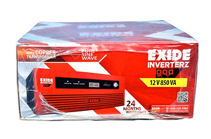 Exide 850Va Pure Sine Wave Home Ups