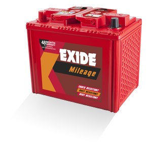 Exide Mileage Mi80d26r 65Ah Battery