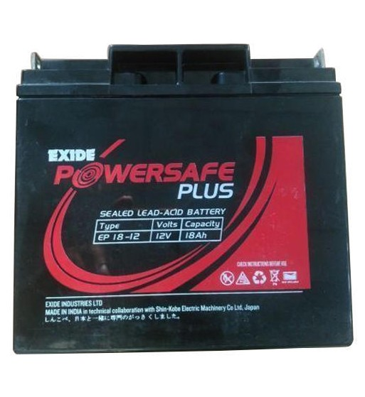 Exide Powersafe Plus Ep 17-12 12V 17Ah Battery