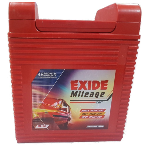 EXIDE MILEAGE RED MR35L 35AH BATTERY