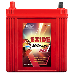 Exide Mileage Red Mr35r 35Ah Battery