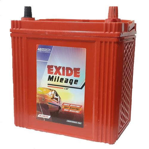 Exide Mileage Red Mred35r 35Ah Battery
