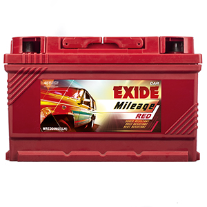 Exide Mileage Red Mreddin65lh 65Ah Battery