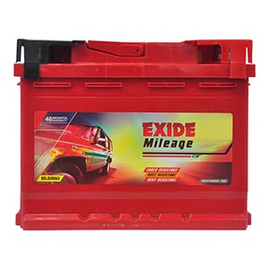 EXIDE MILEAGE RED MREDDIN60 60AH BATTERY