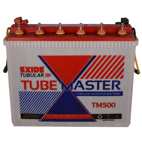 Exide Tm500 Plus 150Ah Tube Master Tubular Inverter Battery