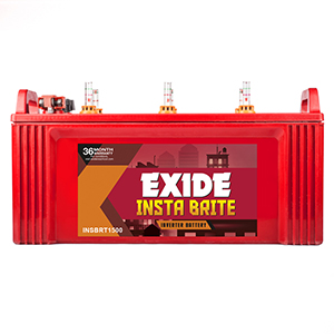 Exide Insta Brite Ib 1350 135Ah Inverter Battery