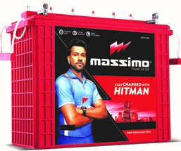 Massimo 12V 150Ah Tall Tubular Inverter Battery