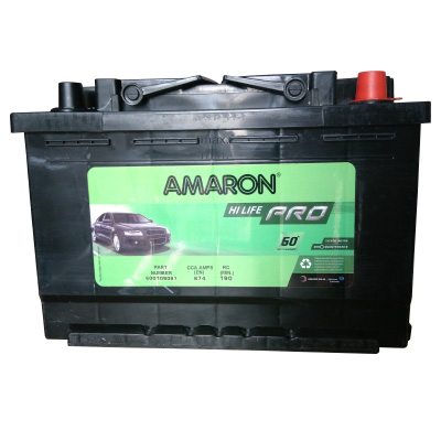 Amaron AAM-BL-0BL600RMF -60AH Battery