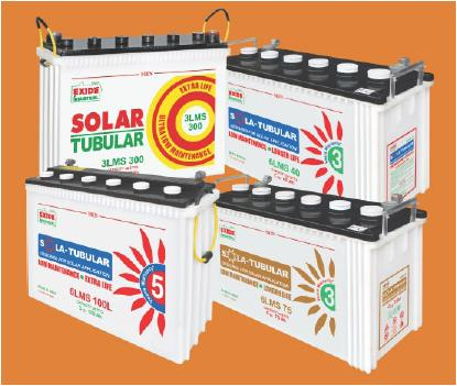 Exide 3LMS 300 SOLAR BATTERIES