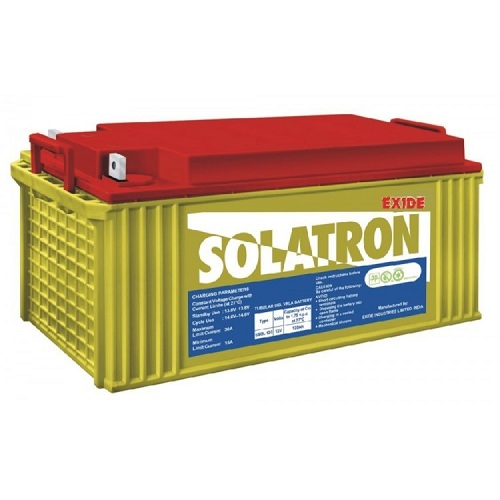 Exide Solatron 6SGL150 GEL BATTERIES