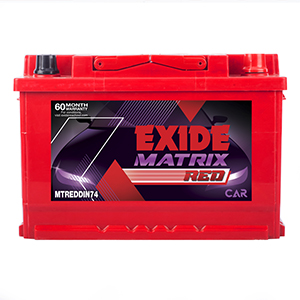 EXIDE MATRIX MTDIN74 74Ah Battery