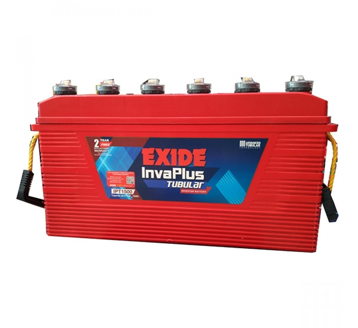 Exide Invaplus IPST1000 100Ah Tubular Battery