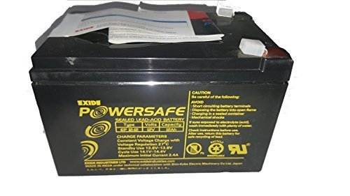 Exide Powersafe Plus EP 12-12 12V 12AH Battery