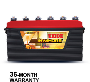 Exide Invamore 1500 150AH Inverter Battery