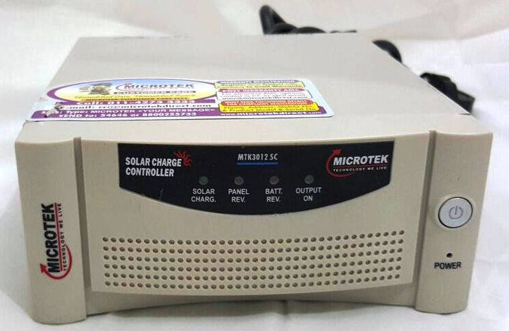 Microtek PWM 12V 3102 Solar Charge Controller