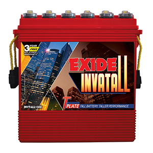 Exide Invatall 1500 Tall Battery