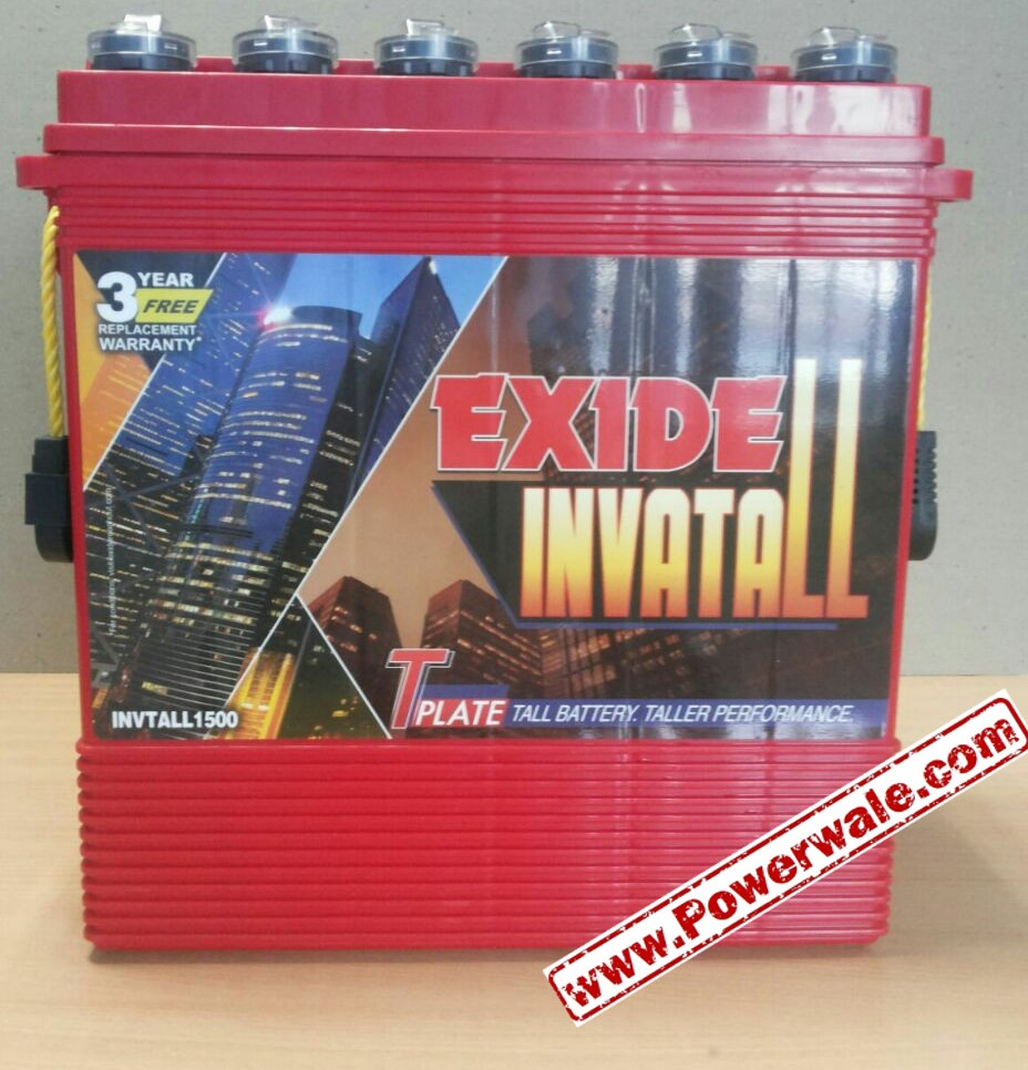 Exide Invatall 2000 Tall Tubular 200Ah battery