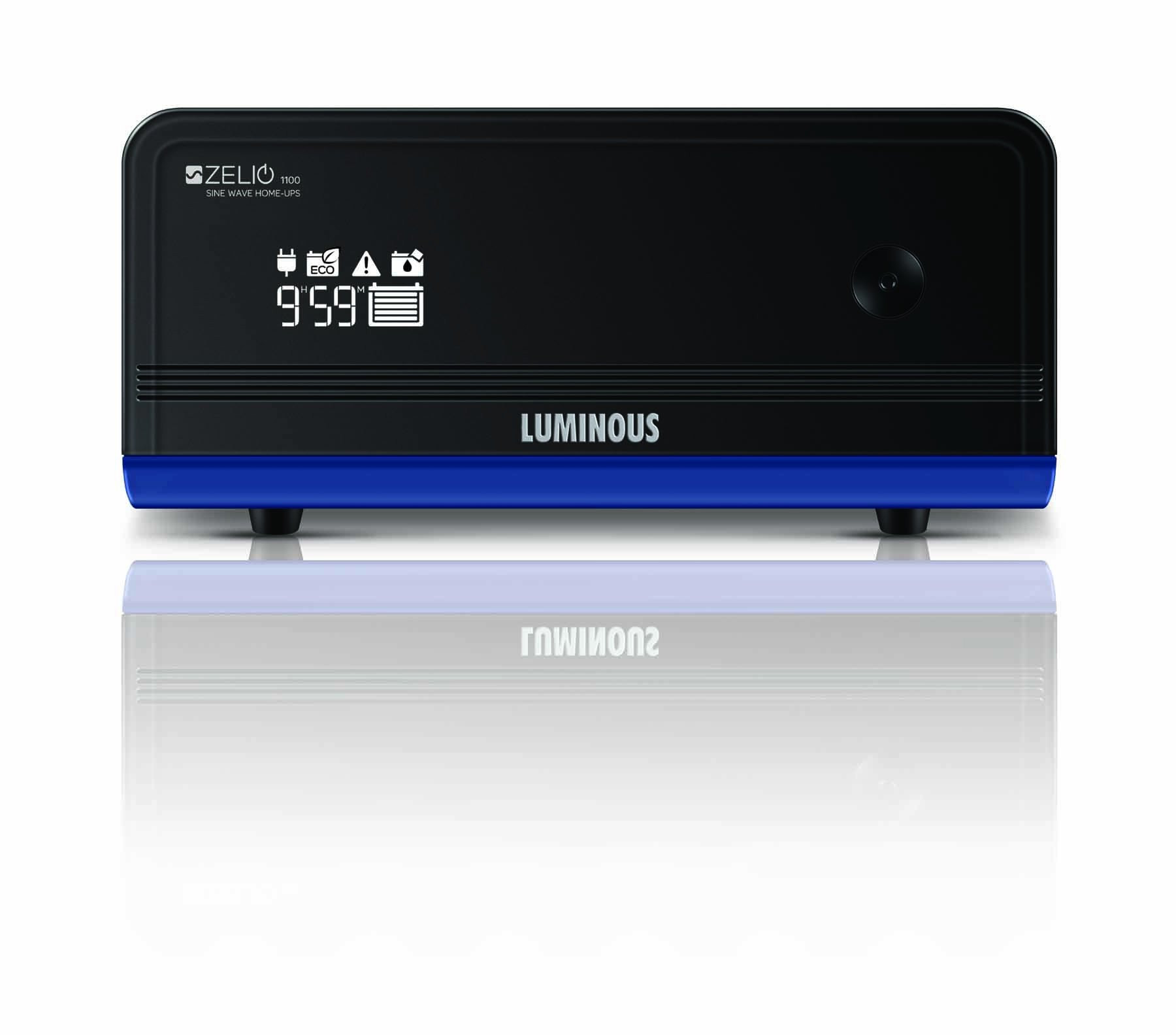 Luminous Zelio+ 1100 Home UPS Inverter Pure Sinewave 2 Years warranty