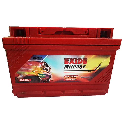 EXIDE MILEAGE RED MRDIN65(LH) 65Ah Battery