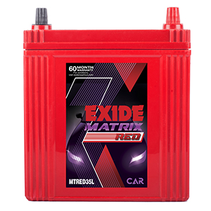 EXIDE MATRIX RED MTRED35L 35Ah Battery