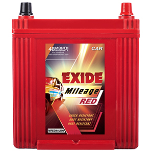 EXIDE MILEAGE RED MR40LBH 35Ah Battery