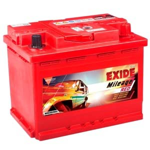 EXIDE MILEAGE RED MREDDIN43LH 43Ah Battery