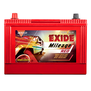 EXIDE MILEAGE RED MRED105D31R 85Ah Battery