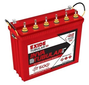 Exide Inva Tubular IT 8500 230AH Battery