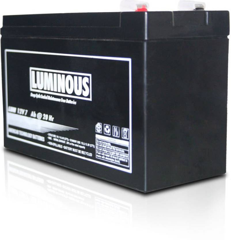 Luminous 12V 7.5Ah UPS Battery