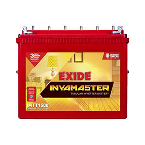 Exide InvaMaster IMTT1500 150Ah Tall Tubular Battery