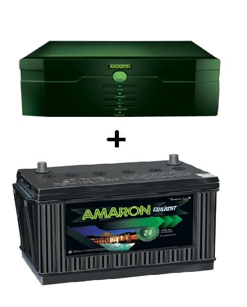 Amaron 675 Va Inverter With 100ah Battery Buy Amaron 675