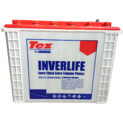 Luminous Tez Inverlife TSTT 1836 150AH Tall Tubular battery