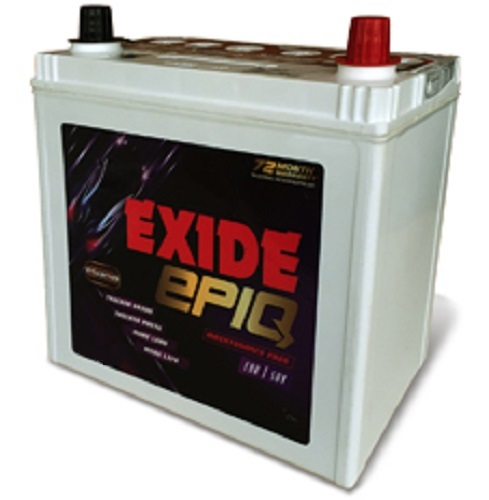 Exide EPIQ DIN74L 74AH Maintenance Free Battery