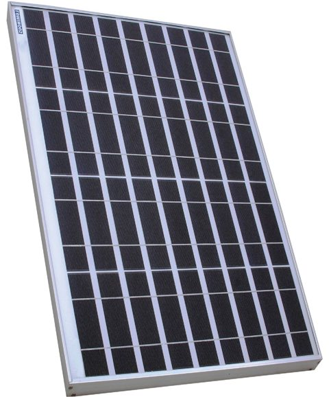 Luminous 12V 100W Solar Poly PV Panel