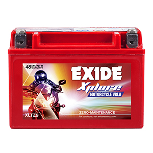 Exide Xplore XLTZ9 Motorcycle VRLA Battery