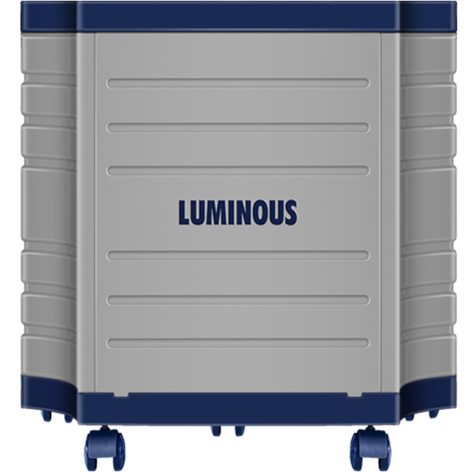 Luminous Tall Tubular Battery Trolley