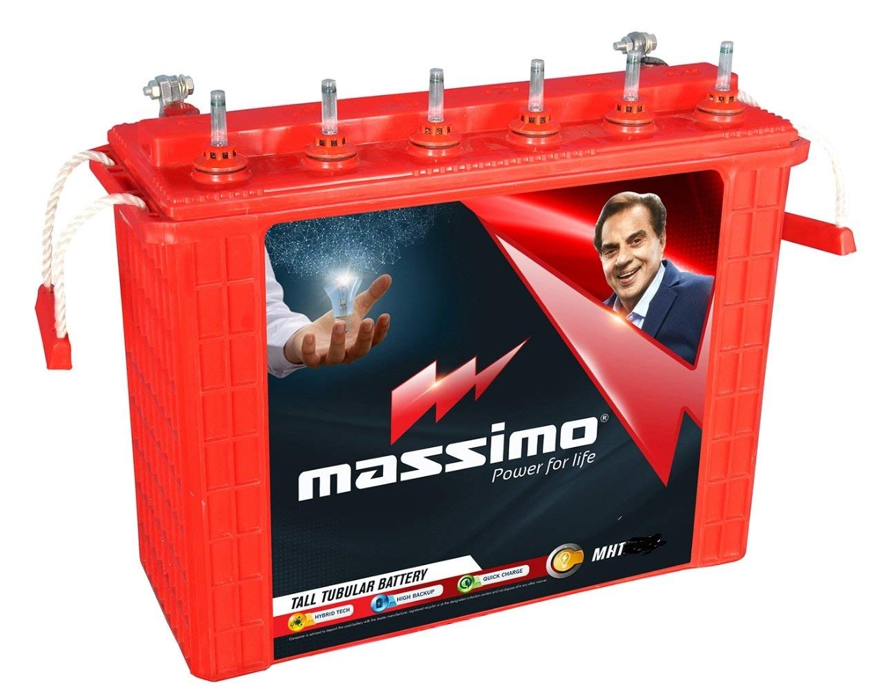 Massimo Tall Tubular MIT 1500 135AH Battery