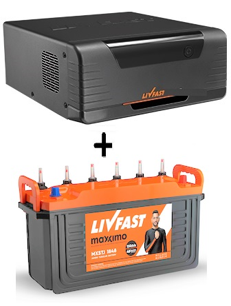 LIVFAST FCS 850 + MAXXIMO MXFP 1830 150AH