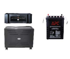APC BI850SINE-IN + APC 135AH Battery + Trolley