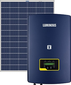 Luminous 2 KW On Grid Solar System