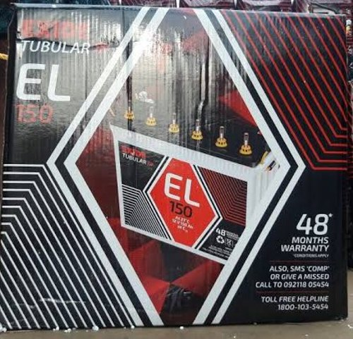 Exide 6EL150 150AH Tall Tubular Battery