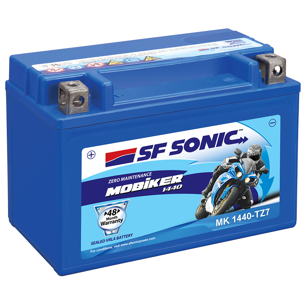 SF Sonic Mobiker MK1440 TZ7 6AH Battery