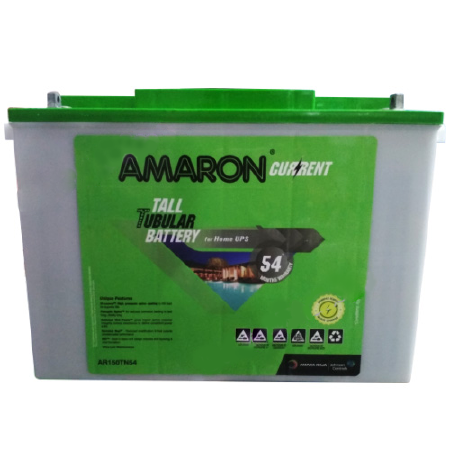 Amaron AAM-CR-AR150TN54 150AH Tall Tubular Battery
